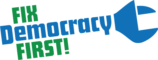 Fix Democracy First! Logo