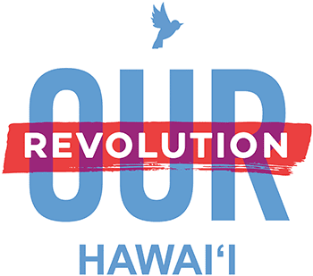 Our Revolution Hawaii Logo