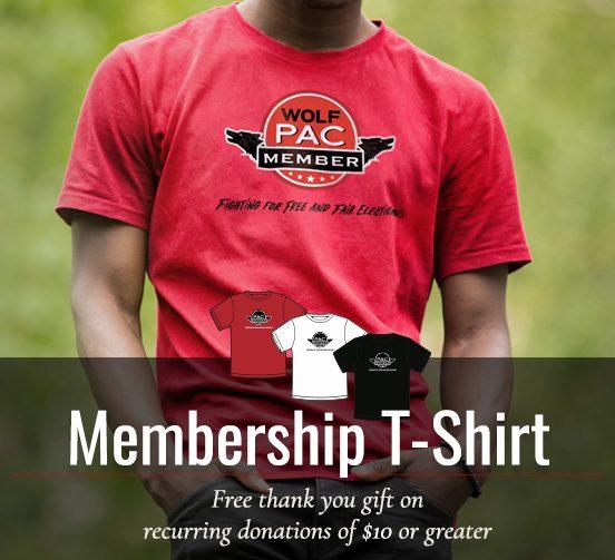 membership t-shirt preview